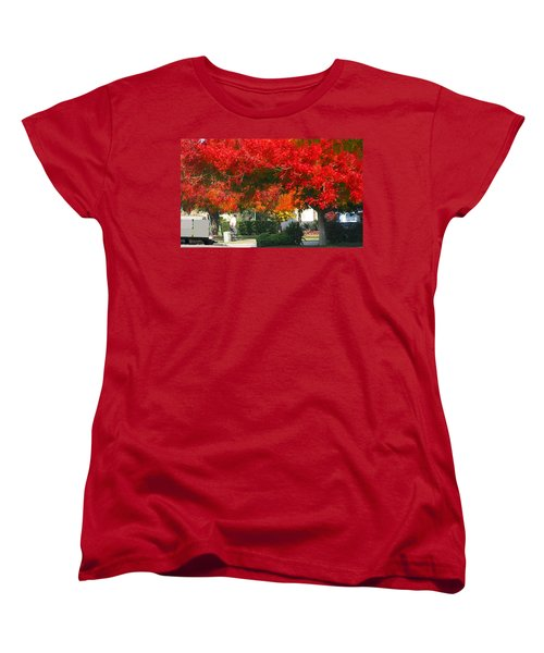 Autumn Fresno Women's T-Shirt (Standard Cut)