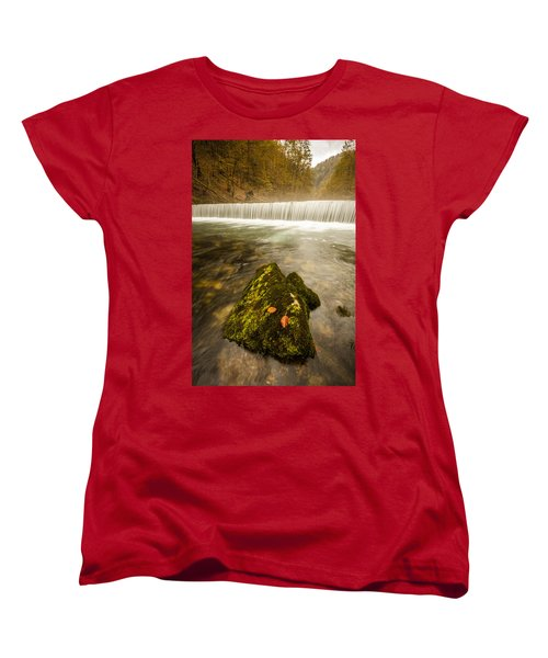 Women's T-Shirt (Standard Cut) featuring the photograph Autumn In Croatia by Davorin Mance