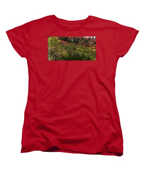 Autumn In Idaho Women's T-Shirt (Standard Cut) by Yeates Photography