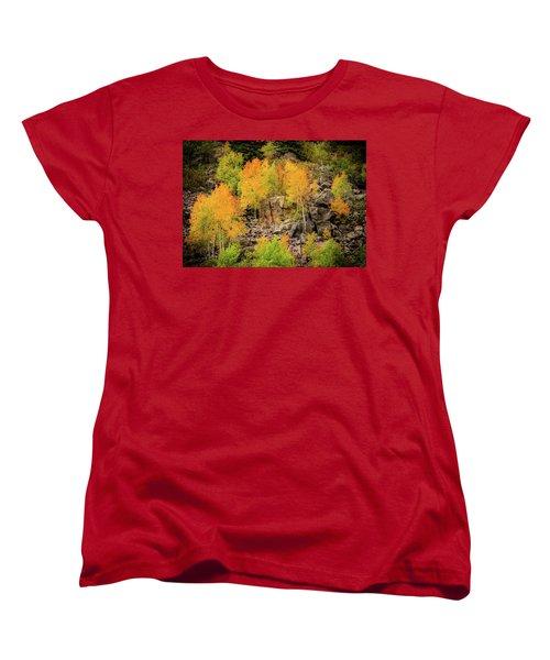 Autumn In The Uinta Mountains Women's T-Shirt (Standard Cut)