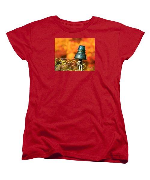 Autumn Insulator Women's T-Shirt (Standard Cut) by Debbie Stahre