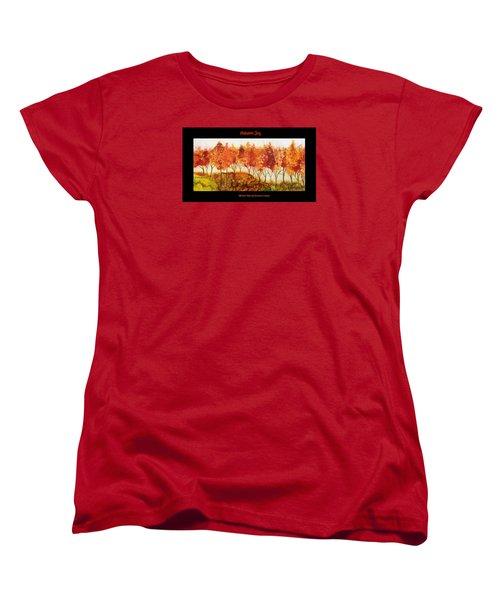 Autumn Joy Women's T-Shirt (Standard Cut)