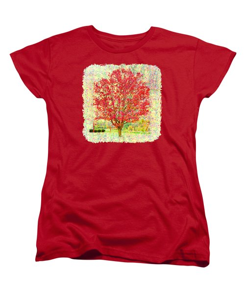 Autumn Musings 2 Women's T-Shirt (Standard Cut) by John M Bailey
