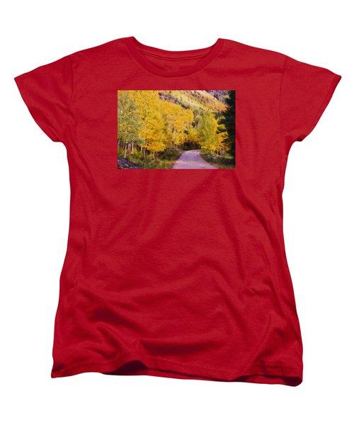 Autumn Passage Women's T-Shirt (Standard Cut) by Lana Trussell