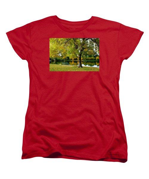 Autumn Repite Women's T-Shirt (Standard Cut) by John McArthur