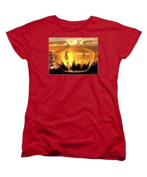 Women's T-Shirt (Standard Cut) featuring the photograph Autumn Spirits by Joyce Dickens