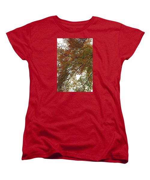 Autumn's Abstract Women's T-Shirt (Standard Cut) by Deborah  Crew-Johnson