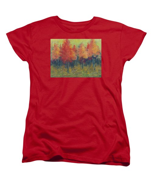 Autumn's Glow Women's T-Shirt (Standard Cut) by Lee Beuther