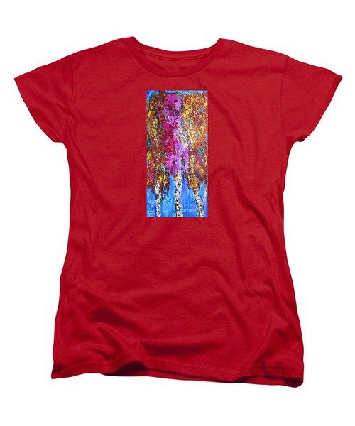 Autumn's Splendor Women's T-Shirt (Standard Cut)