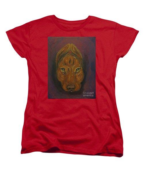 Baby Niko Pitty Women's T-Shirt (Standard Cut) by Ania M Milo