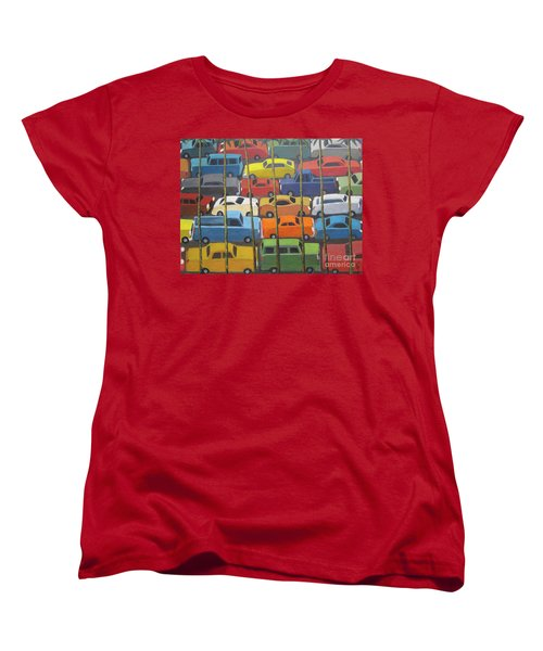 Back And Forth Women's T-Shirt (Standard Cut) by Glenn Quist