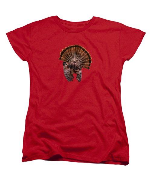 Back View Women's T-Shirt (Standard Cut) by Zina Stromberg