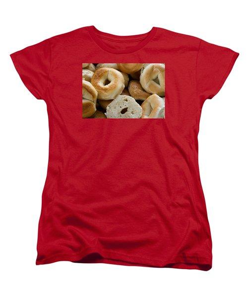 Bagels 1 Women's T-Shirt (Standard Cut) by Michael Fryd