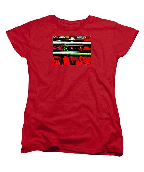 Bahre Car Show II 28 Women's T-Shirt (Standard Cut) by George Ramos