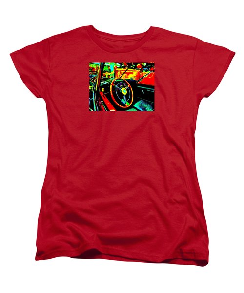 Bahre Car Show II 30 Women's T-Shirt (Standard Cut) by George Ramos