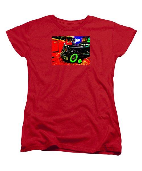 Bahre Car Show II 32 Women's T-Shirt (Standard Cut) by George Ramos