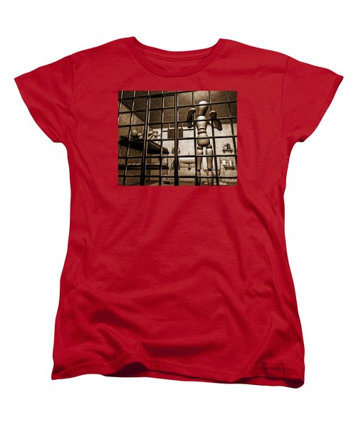 Bail Denied  Women's T-Shirt (Standard Cut) by Bob Orsillo