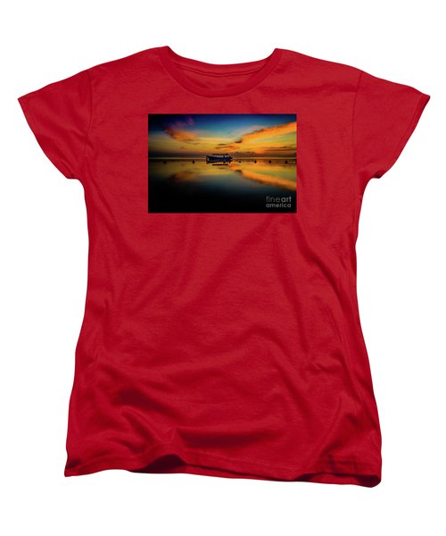 Bali Sunrise 3 Women's T-Shirt (Standard Cut) by M G Whittingham
