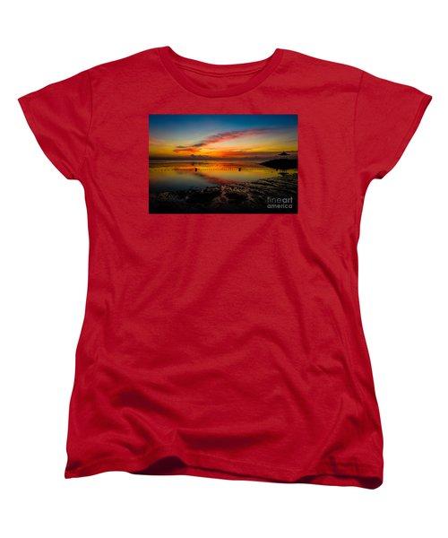 Bali Sunrise II Women's T-Shirt (Standard Cut) by M G Whittingham