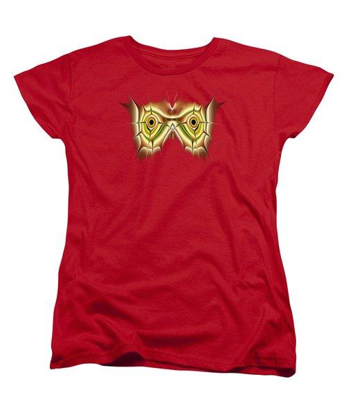 Barn Owl Women's T-Shirt (Standard Cut) by Anastasiya Malakhova