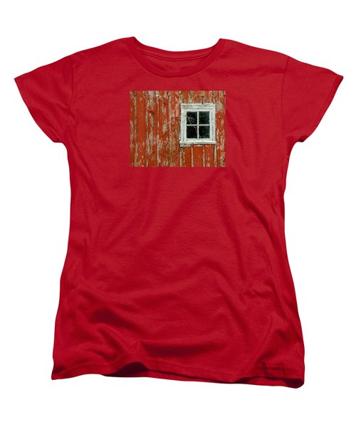 Barn Window Women's T-Shirt (Standard Cut) by Dan Traun