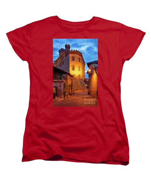 Women's T-Shirt (Standard Cut) featuring the photograph Barolo Morning by Brian Jannsen