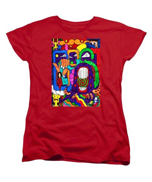 Basic Women's T-Shirt (Standard Cut) by Pennie  McCracken