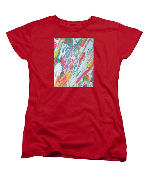 Beach House On The Moon Women's T-Shirt (Standard Cut)