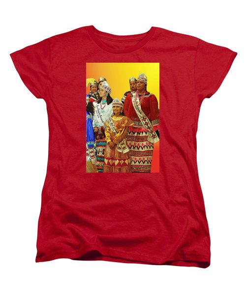 Beauties Grand Entrance Women's T-Shirt (Standard Cut) by Audrey Robillard