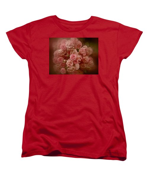 Beautiful Roses 2016 No. 3 Women's T-Shirt (Standard Cut) by Richard Cummings