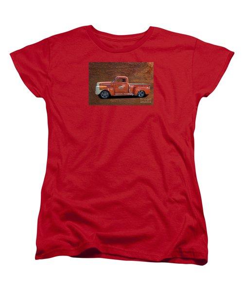 Beautiful Truck Women's T-Shirt (Standard Cut) by Jim  Hatch