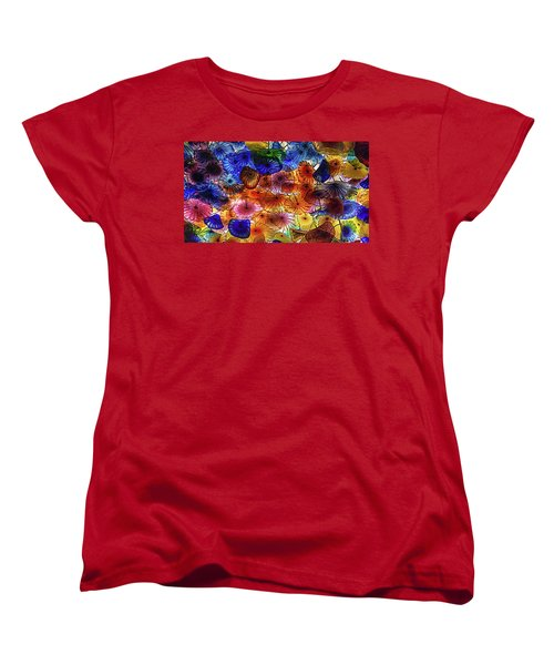 Beauty All Around Us Women's T-Shirt (Standard Cut) by Michael Rogers