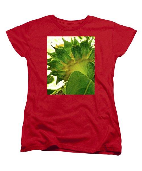 Women's T-Shirt (Standard Cut) featuring the photograph Beauty Beneath by Randy Rosenberger
