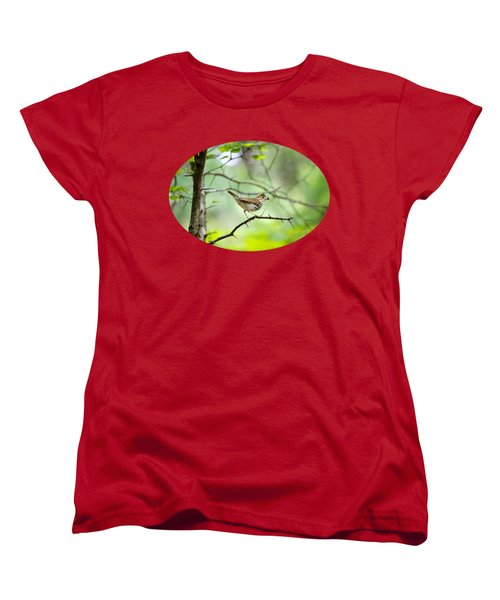 Beauty Of The Spring Forest Women's T-Shirt (Standard Cut) by Christina Rollo