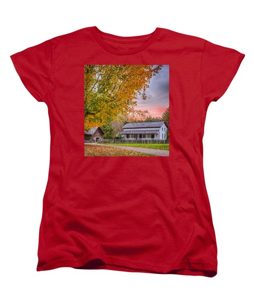 Women's T-Shirt (Standard Cut) featuring the photograph Becky Cabel House by Tyson and Kathy Smith