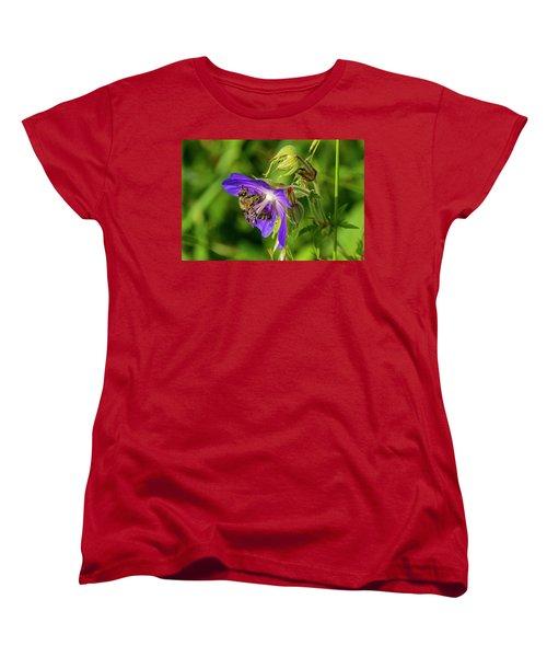 Bee At Work Women's T-Shirt (Standard Cut)