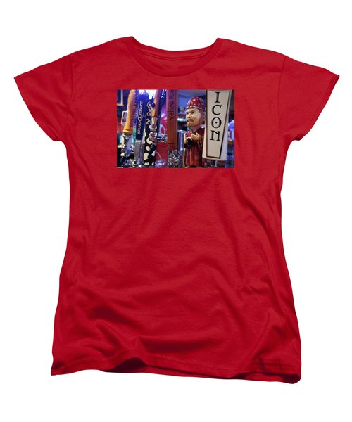 Beer Taps Women's T-Shirt (Standard Cut) by Tim Stanley