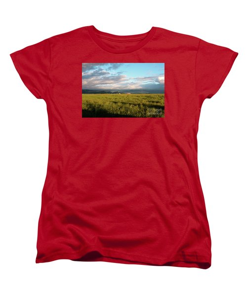 Before The Rainbow Women's T-Shirt (Standard Cut) by Janie Johnson