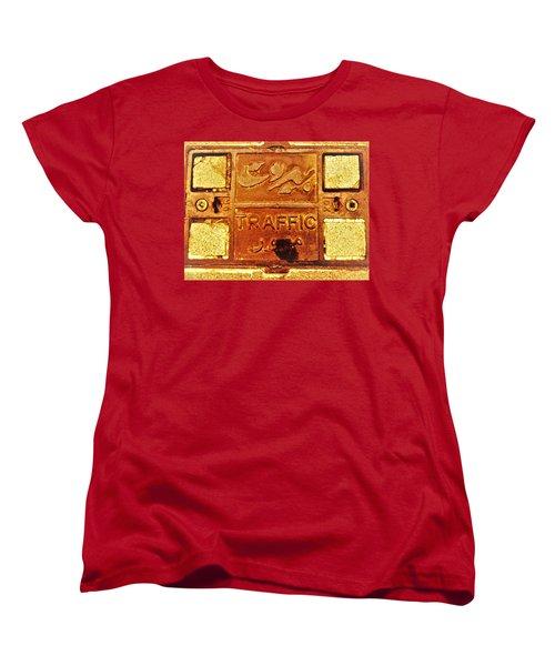 Beirut Traffic Women's T-Shirt (Standard Cut) by Funkpix Photo Hunter