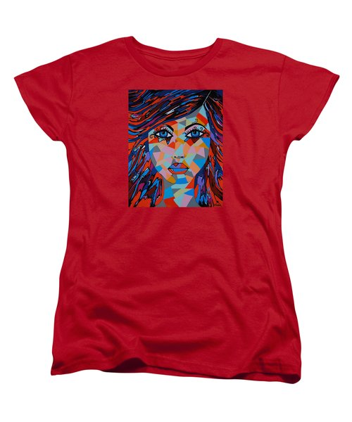 Women's T-Shirt (Standard Cut) featuring the painting Bella by Kathleen Sartoris