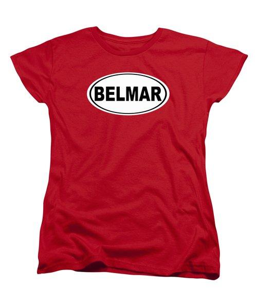 Women's T-Shirt (Standard Cut) featuring the photograph Belmar New Jersey Home Pride by Keith Webber Jr