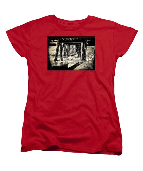 Women's T-Shirt (Standard Cut) featuring the photograph Beneath by William Wyckoff