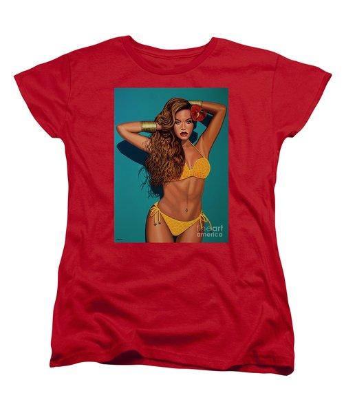 Beyonce 2 Women's T-Shirt (Standard Cut) by Paul Meijering