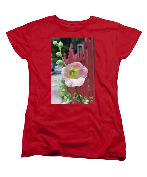 Beyond The Garden Fence Women's T-Shirt (Standard Cut) by Alycia Christine