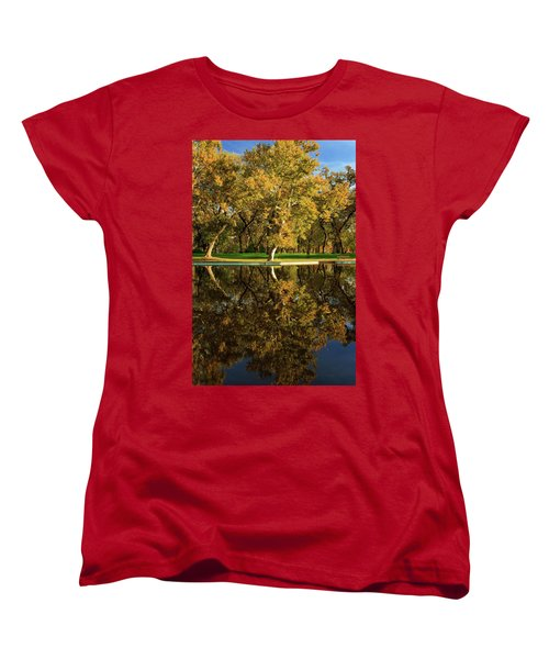 Bidwell Park Reflections Women's T-Shirt (Standard Cut)
