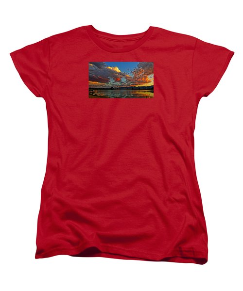 Big Sky Women's T-Shirt (Standard Cut) by Eric Dee