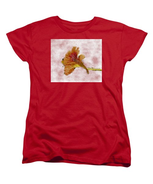 Bindweed Paiterly 1.  Women's T-Shirt (Standard Cut) by Leif Sohlman