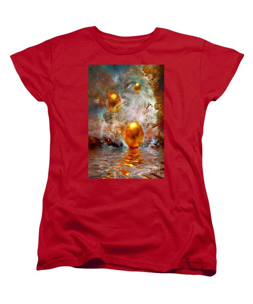 Birth Women's T-Shirt (Standard Cut) by Jacky Gerritsen