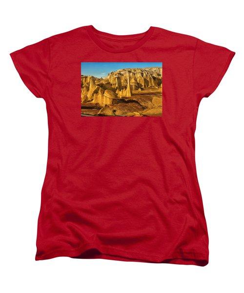 Bisti Badlands Fantasy Women's T-Shirt (Standard Cut) by Alan Vance Ley