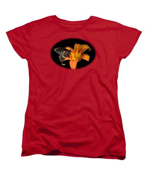 Black Beauty Butterfly Women's T-Shirt (Standard Cut)